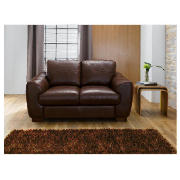 Milano leather sofa regular, chocolate product image