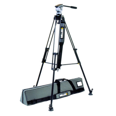 The DS10 828, with carry case, supports Ultralight DVCAMcorders with a rock-solid, lightweight tripo - CLICK FOR MORE INFORMATION