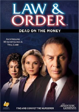 Mindscape Law and Order Dead on the Money PC