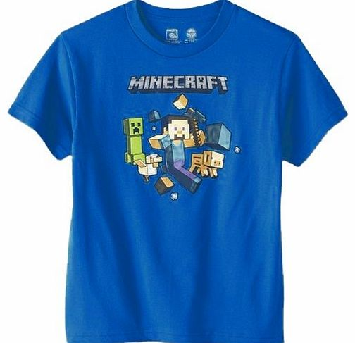 Minecraft Boys Blue T-Shirt - 6-7 Years product image
