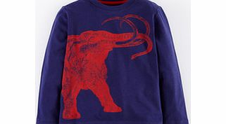 Mini Boden Animal Drawing T-shirt, French Navy product image