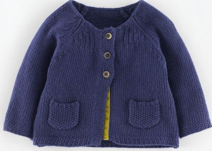 Mini Boden, 1669[^]34975540 Baby Cardigan Twilight Mini Boden, Twilight