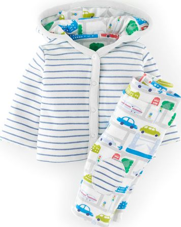 Mini Boden, 1669[^]34607507 Baby Jacket and Trouser Set Multi Mini Boden,