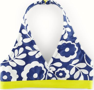 Mini Boden, 1669[^]34502302 Bikini Top Blue Mini Boden, Blue 34502302