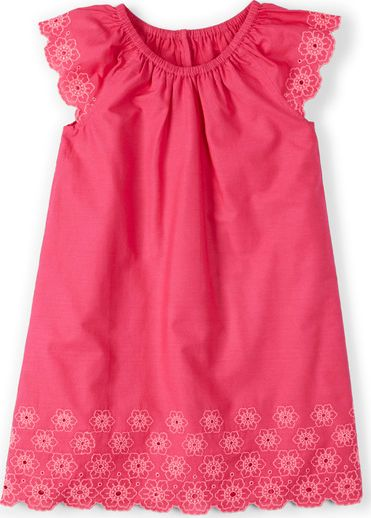 Mini Boden, 1669[^]34814624 Broderie Summer Dress Pink Grapefruit Mini