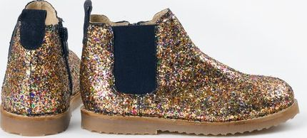 Mini Boden, 1669[^]34913194 Chelsea Boots Multi Glitter/Red Mini Boden,