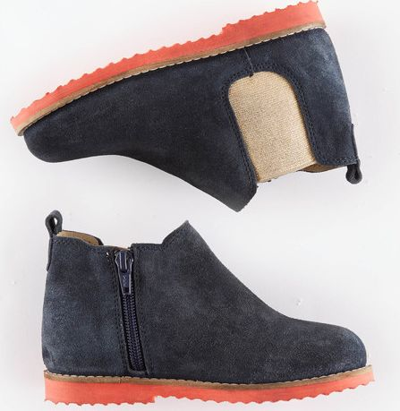Mini Boden, 1669[^]34913418 Chelsea Boots Navy/Gold Mini Boden, Navy/Gold