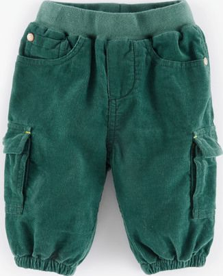 Mini Boden, 1669[^]34999854 Cosy Lined Cord Trousers Nettle Mini Boden,