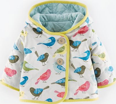 Mini Boden, 1669[^]34957795 Cosy Quilted Reversible Jacket Powder Blue/Light