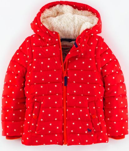 Mini Boden, 1669[^]34886960 Cosy Two-in-one Padded Jacket Poppy Star Mini