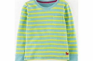Mini Boden Everyday T-shirt, Fountain Blue Star,Soot product image