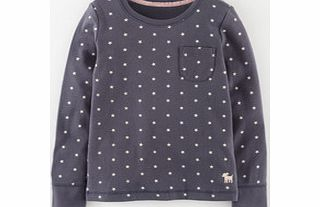 Mini Boden Everyday T-shirt, Soot Star,Duck Egg product image
