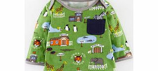 Mini Boden Fun Printed T-shirt, Kiwi Boden Zoo 34190413 product image