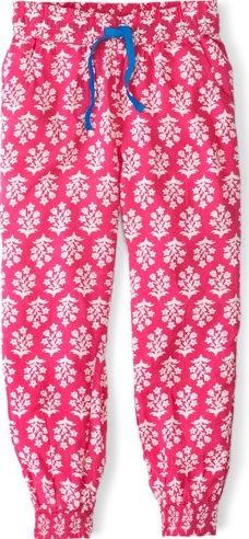 Mini Boden, 1669[^]34768762 Holiday Trousers Tutti Frutti Flower Stamp Mini