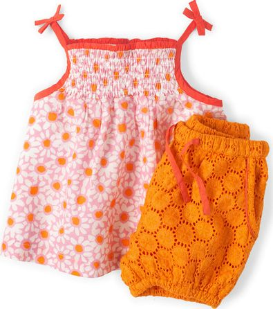 Mini Boden, 1669[^]34845545 Hotchpotch Broderie Play Set Pink Mini Boden,
