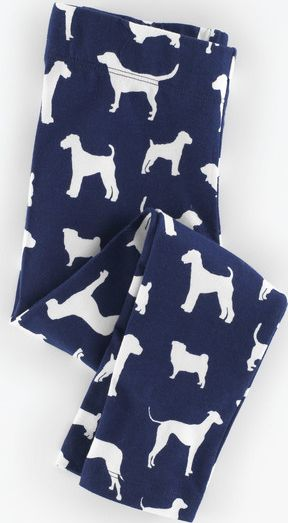 Mini Boden, 1669[^]35217488 Leggings Navy Walkies Mini Boden, Navy Walkies
