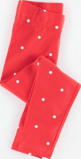 Mini Boden, 1669[^]34904474 Leggings Washed Red Spot Mini Boden, Washed Red