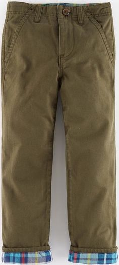 Mini Boden, 1669[^]34951293 Lined Chinos Green Mini Boden, Green 34951293