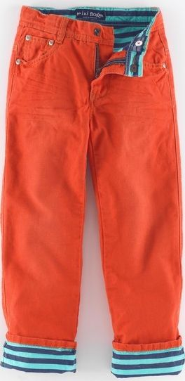 Mini Boden, 1669[^]34945980 Lined Jeans Pumpkin Mini Boden, Pumpkin 34945980