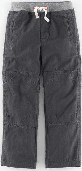 Mini Boden, 1669[^]34944975 Lined Knee Patch Trousers Grey Mini Boden, Grey