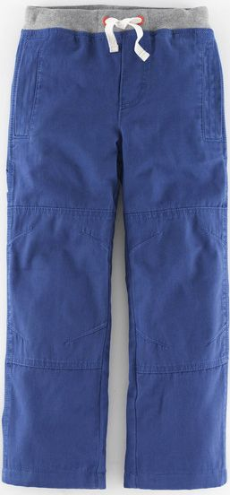 Mini Boden, 1669[^]34944868 Lined Knee Patch Trousers Reef Mini Boden, Reef