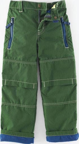 Mini Boden, 1669[^]34947887 Lined Skate Pants Forest Green Mini Boden,