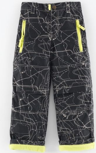 Mini Boden, 1669[^]34948067 Lined Skate Pants Graphite Map Mini Boden,