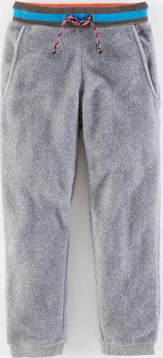 Mini Boden, 1669[^]34954289 Micro Fleece Joggers Elephant Melange Mini