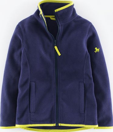 Mini Boden, 1669[^]35137140 Micro Fleece Zip-through Navy Mini Boden, Navy