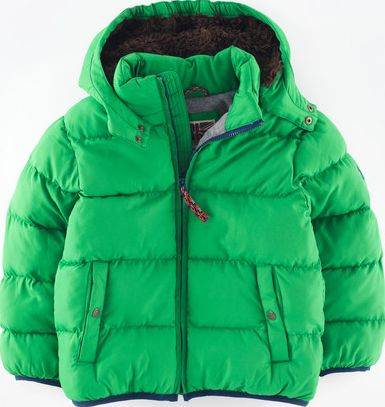 Mini Boden, 1669[^]34909374 Padded Jacket Green Mini Boden, Green 34909374