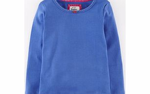 Mini Boden Pretty T-shirt, Blueberry,White,Dusty product image
