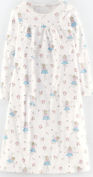 Mini Boden, 1669[^]34997882 Printed Nightie Blush Fairies Mini Boden, Blush