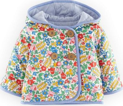 Mini Boden, 1669[^]34518902 Quilted Reversible Jacket Blue Mini Boden, Blue