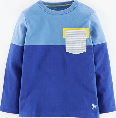 Mini Boden, 1669[^]34956268 Seafarer T-shirt Sail Blue/Indigo Mini Boden,