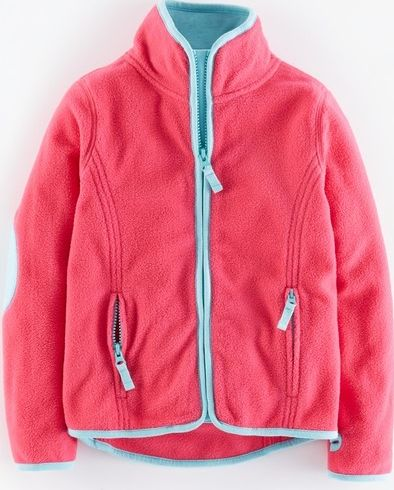 Mini Boden, 1669[^]34901165 Ski Fleece Sweetheart Pink Mini Boden,