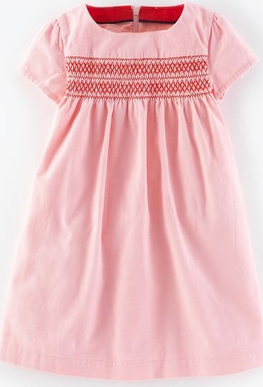 Mini Boden, 1669[^]35154673 Smocked Cord Dress Blush Mini Boden, Blush