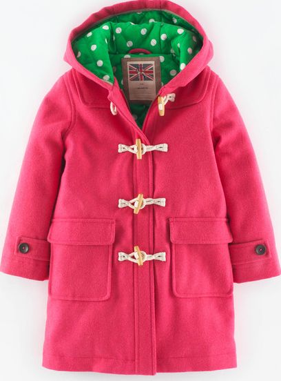 Mini Boden, 1669[^]34898056 The Duffle Sweetheart Pink Mini Boden,