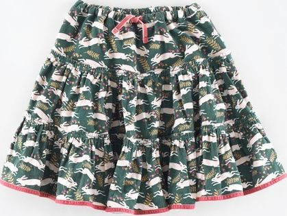 Mini Boden, 1669[^]34960195 Twirly Skirt Sage Country Hare Mini Boden, Sage