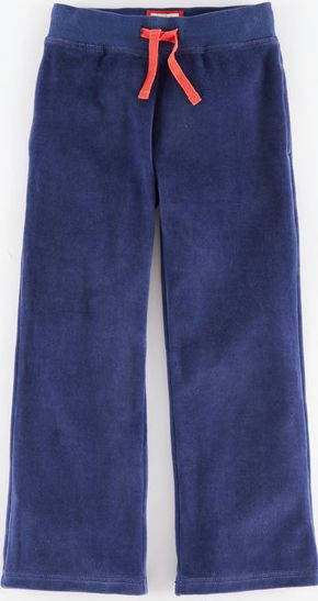 Mini Boden, 1669[^]34901777 Velour Sweatpants Blue Mini Boden, Blue 34901777