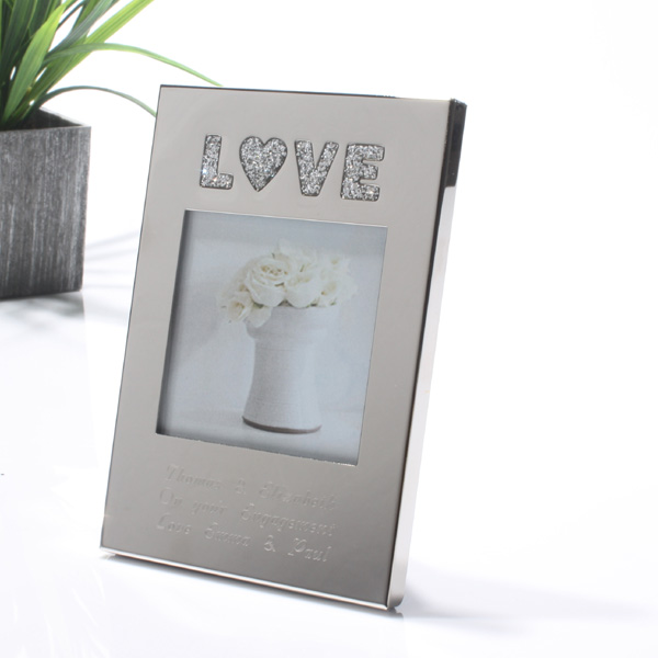 Mini Personalised Love Frame product image