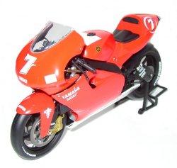 12 Scale Yamaha YZR 500 Team Marlboro 2001 - Carlos Checa 2001 World