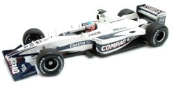 1:18 Scale Williams Bmw FW22 Race Car 2000 J Button