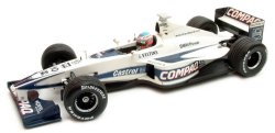 1:43 Scale Williams Bmw FW22 Promotional Showcar 2000 J.Button