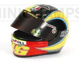 A half scale replica of Valentino Rossis Helmet from the 2005 season is now available from Minichamps. (Barcode EAN = 4012138070554). - CLICK FOR MORE INFORMATION