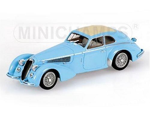 Diecast Model Alfa Romeo 8C 2900 (1938) in Light Blue (1:43