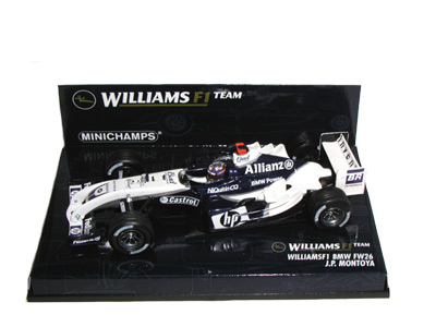 WilliamsF1 BMW FW26 J.P. Montoya 2004 in White