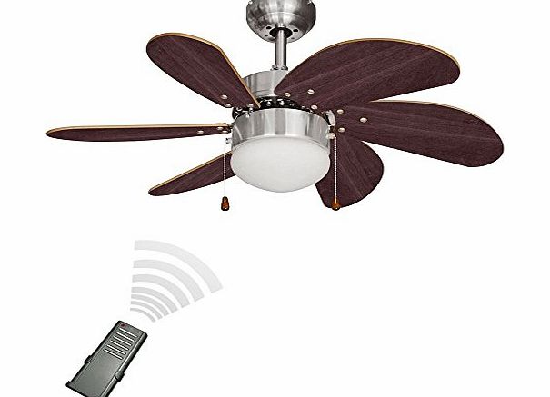 Ceiling Fan Lights Minisun Chrome 30 Modern Ceiling Fan