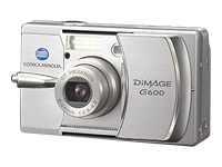 Minolta DiMage G-600 6MP 3x Optical 3x Digital Zoom