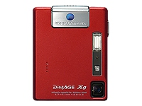 Minolta DiMage Red Xg 3.2MP 3x Optical 4x Digital Zoom (Ultra Compact)