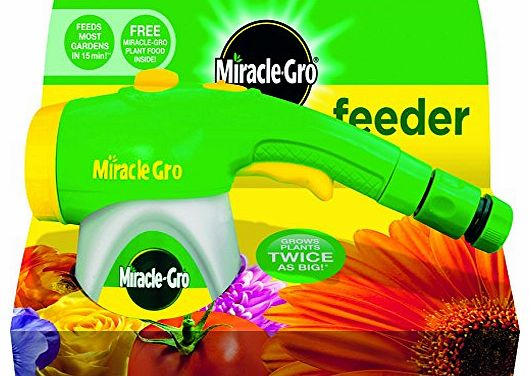 Miracle-Gro Feeder with All Purpose Plant Food